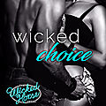 ** cover reveal ** wicked choice (wicked horse vegas, book #4) by sawyer bennett