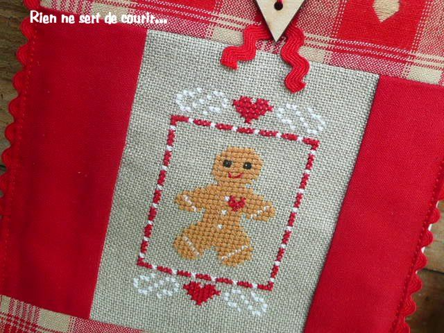 gingerbread free xstichhappy