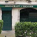 L'ESCALIER Grenoble Isère restaurant L'ETAGE Briançon Hautes-<b>Alpes</b> crêperie