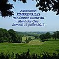 35 Randonnée autour du Mont des Cats Juillet 2013