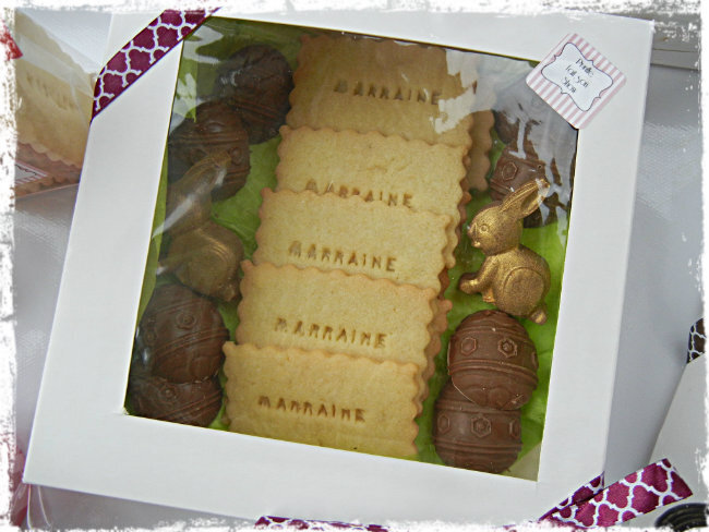 coffret chocolats paques prunille