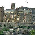 Château de bouzols en haute-loire
