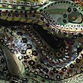 Hervé THAREL SCHMIMBLOCK'S kameleon 2013 - T7 sur aregile 21cmx9cm (détail1)