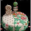 Mission anniversaire : gâteau jardin des fées