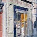 Marseille, boutique rue de l'Evêché