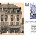 Les enseignes emblématiques belfortaines : <b>Hôtel</b> de l'Ancienne Poste