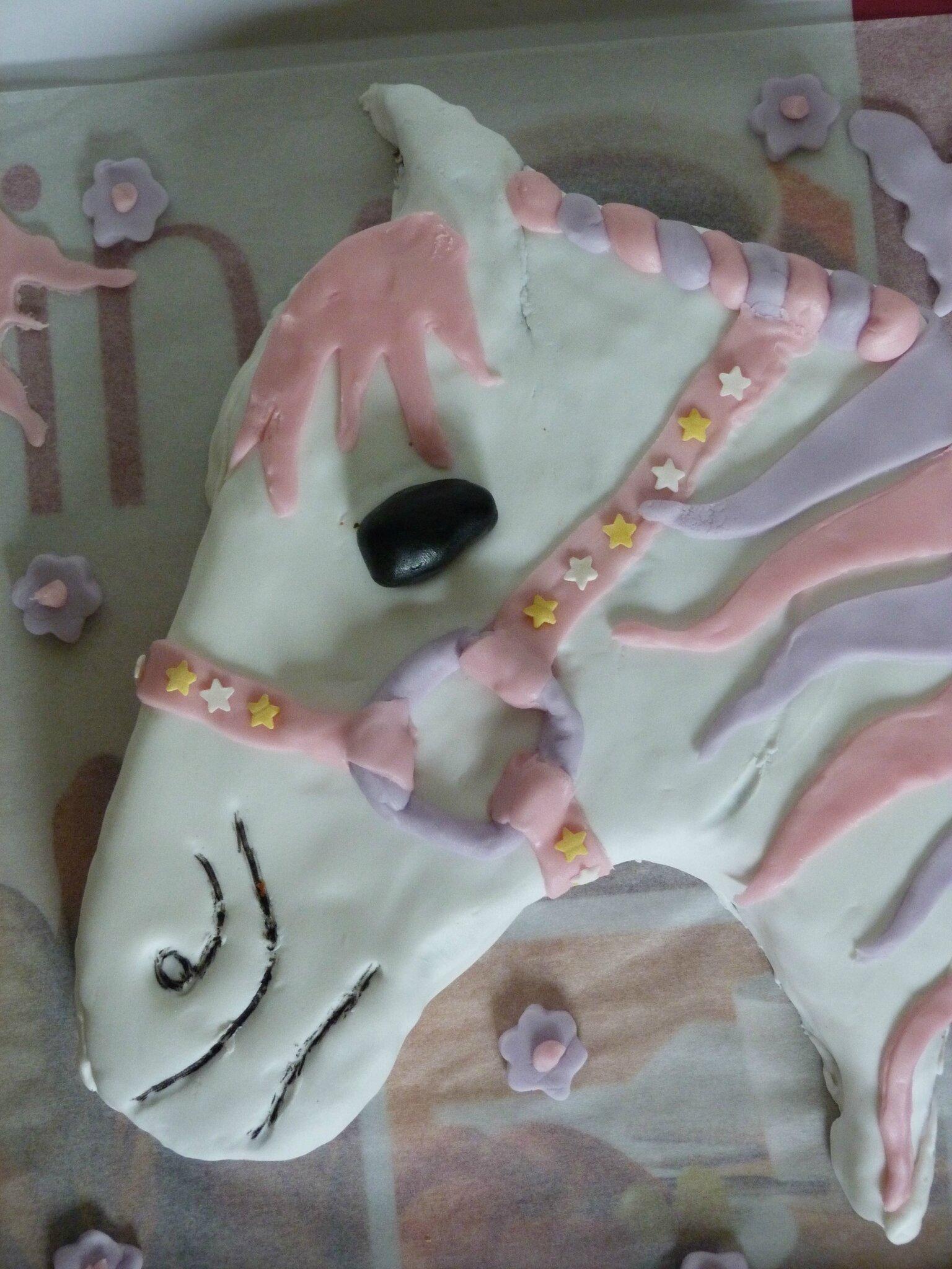 Gâteau cheval 2