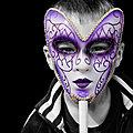 Noir velours de <b>violette</b> noire par Irène Gahéry
