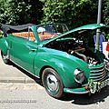 Dkw F91 karmann cabriolet de 1954 (1550ex)(37ème Internationales Oldtimer Meeting de Baden-Baden) 01