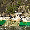 Pêche au filet Deshaie