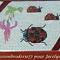 Passionbroderie77 pour Jocelyne