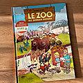 Nous avons découvert Le Zoo des Animaux Disparus tome 2 de Cazenove & Bloz (Editions <b>Bamboo</b>)
