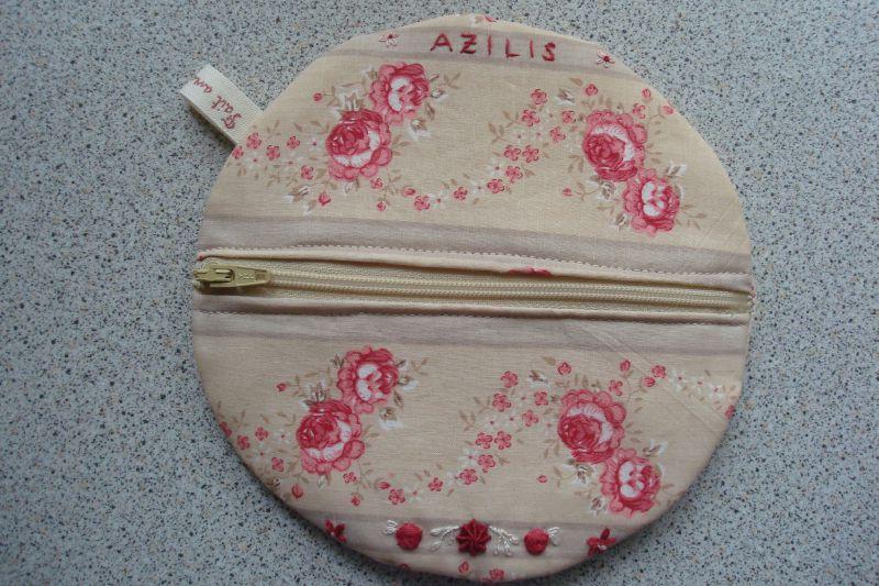 Pochette fleurie... Bon anniversaire Azilis