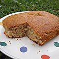 Gâteau sans oeufs à la compote de pommes