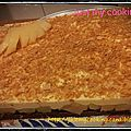 Croustillant poire/caramel