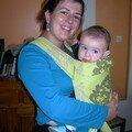Audrey et Lucas 7 mois
