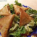 Samosas aux legumes