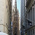 DAY 3 : Wall St (Trinity Church)