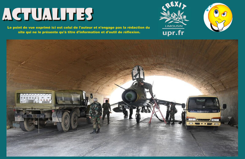 ACT SYRIE FRAPPES ATTAQUES CHIMIQUES