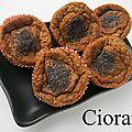 Muffin monday # 36 : muffins sucrés à la pomme de terre et au pavot