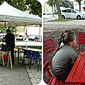 Quartier Drouot - Un après-midi à la guinguette sur la place Paul Hauger...