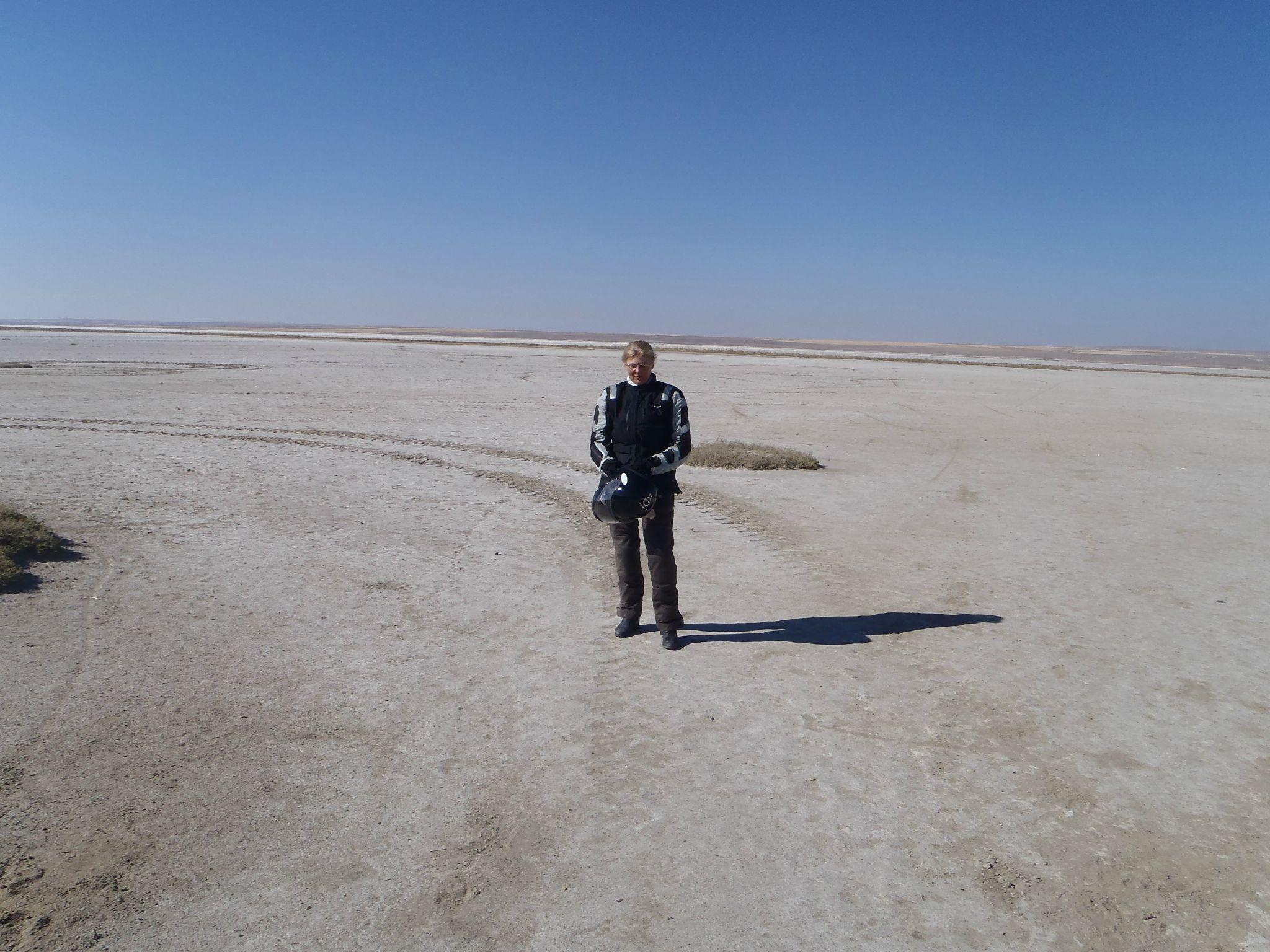 turquie : tuz : quand t'es dans le desert de sel