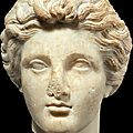 A Greek marble head of a youth, Classical period, <b>circa</b> <b>4th</b> <b>century</b> <b>B</b>.<b>C</b>.