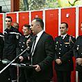 MIREVAL : Voeux et nominations du Colonel Risdorfer aux <b>Sapeurs</b> <b>Pompiers</b> volontaires de Mireval