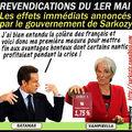 Mobilisation du 1er mai : une première mesure prise par le gouvernement de sarkozy