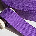 Sangle 30mm violet