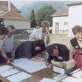 ACCUEIL DES PARTICIPANTS 1990