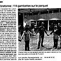 Article sur les danserien bro lokorn dans ouest france - 15 janvier 2013