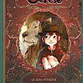 Les carnets de Cerise, Le zoo pétrifié, de Joris Chamblain et Aurélie Neyret