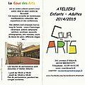 Mon <b>atelier</b> d'<b>arts</b> <b>plastiques</b>