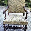 Etude de fauteuil