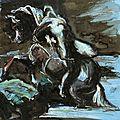 Mazeppa d'après Géricault