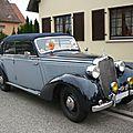MERCEDES 230 W153 cabriolet D Lipsheim (1)
