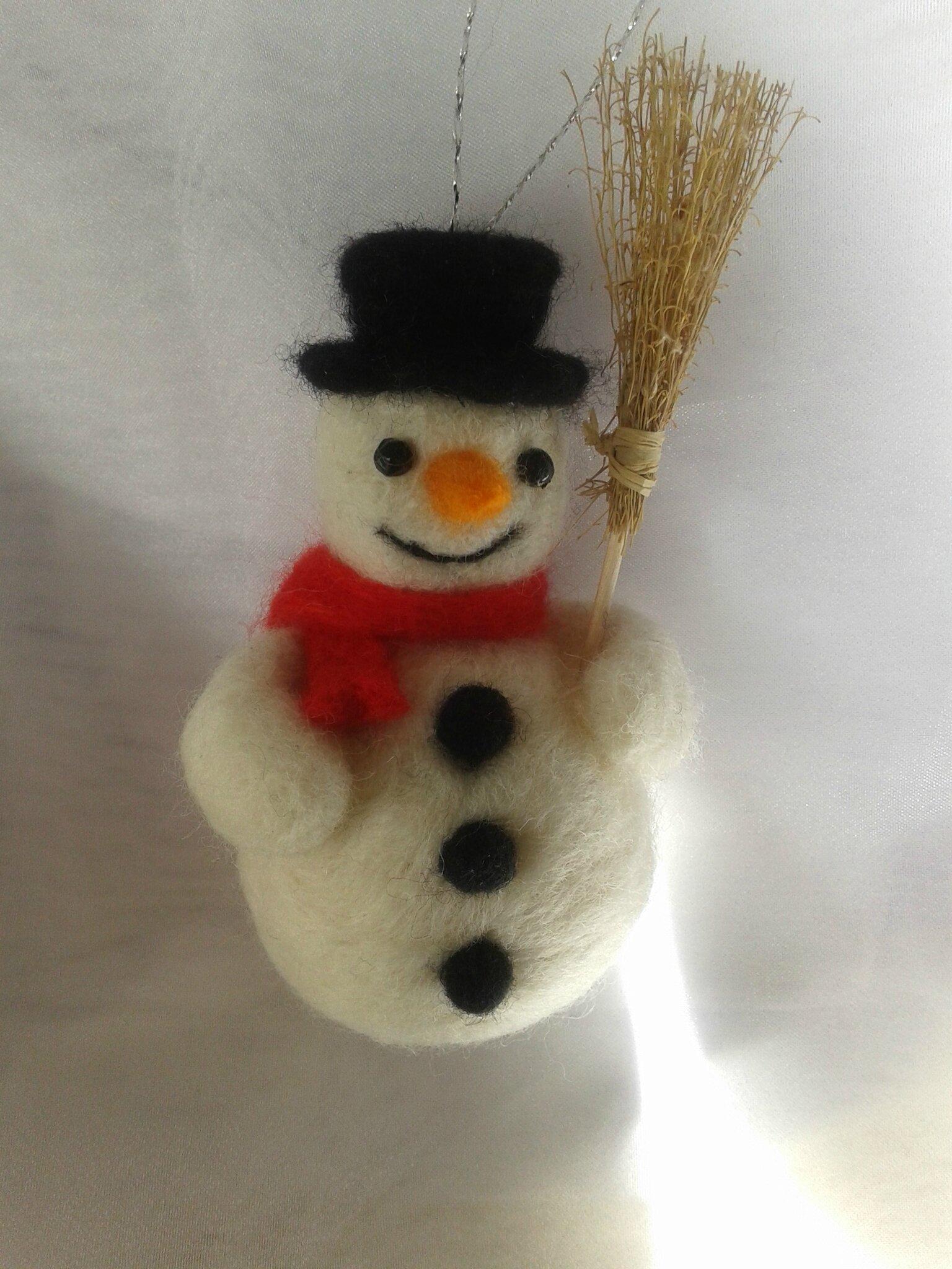 Tutoriel pour créer un bonhomme de neige