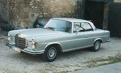 MERCEDES - 280 SEC - 1969