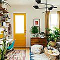 Inspirations... une porte d'entrée colorée