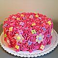 Layer cake chocolat et framboises
