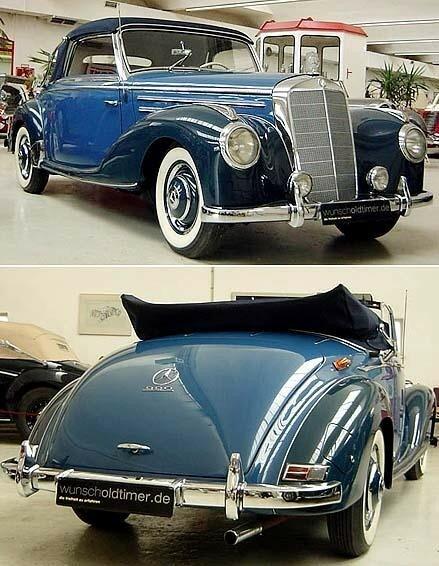 MERCEDES - W 187 - 220 Cabriolet A - 1953