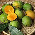 Confiture de mangue à la vanille
