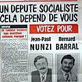 Les législatives de 1981 en tetg