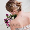 Accessoire de <b>coiffure</b> mariage : Bijoux de tête mariage Marquise