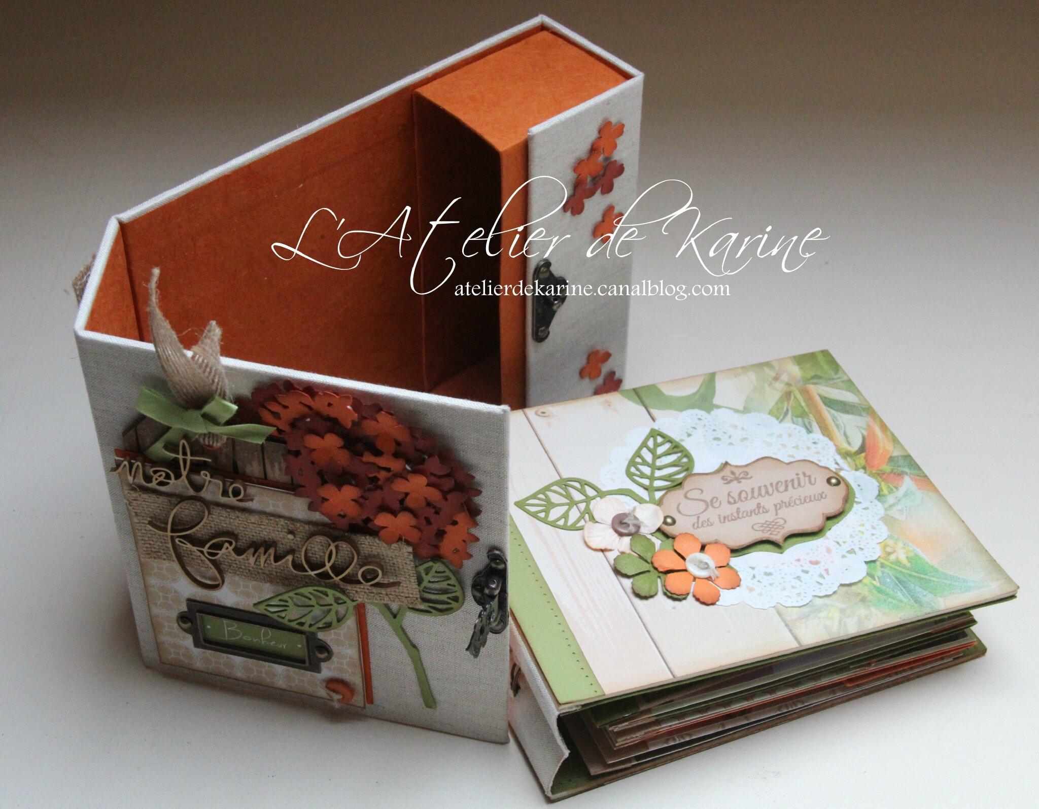 Mini Album et son coffret - Pure Lorelaïl Design 18