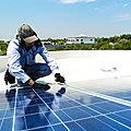 <b>Énergie</b> <b>renouvelable</b>, un secteur créateur d'emplois