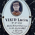 VIAUD Lucien (Nohant Vic) + 16/07/1916 Nohant Vic (36)