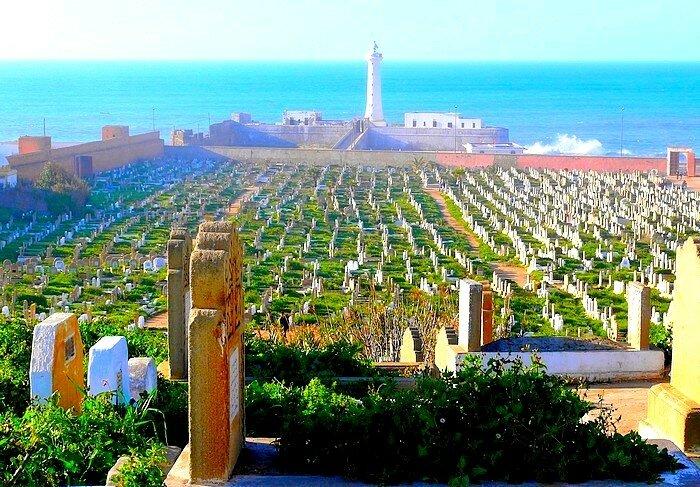 Cimetiére Rabat Océan