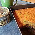 Gâteau pomme orange cannelle
